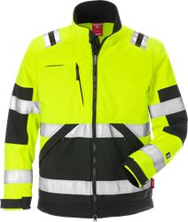 Hi Vis softshelljakke kl.2 4083 Kansas Medium