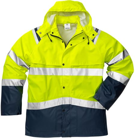 High vis rain jacket class 3 4624 RS 1 Fristads  Large