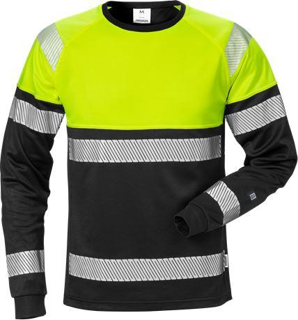 High vis long sleeve t-shirt class 1 7519 THV 1 Fristads  Large