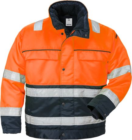 High Vis Winterjacke Kl. 3 444 PP 1 Fristads  Large