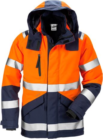 High vis GORE-TEX shell jacket class 3 4988 GXB 1 Fristads  Large