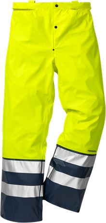 High vis rain trousers class 2 2625 RS 2 Fristads  Large