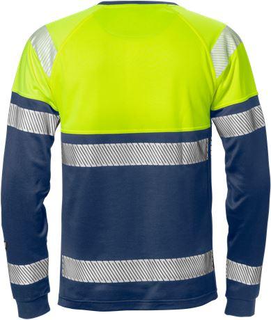 Varsel långärmad T-shirt 7519 THV, klass 1 2 Fristads  Large