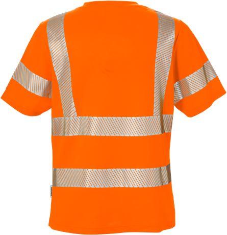 Varsel T-shirt 7458 THV klass 2, dam 2 Fristads  Large