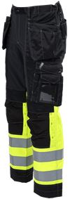 Tool Pocket Trousers Stretch HiVis 3.0 3 Leijona Small