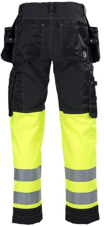 Ladies Tool Pocket Trousers HiVis 3.0 Stretch 2 Leijona  Large