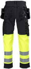 Tool Pocket Trousers Stretch HiVis 3.0 2 Leijona Small