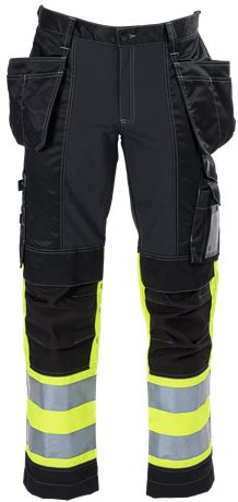 Tool Pocket Trousers Stretch HiVis 3.0 1 Leijona  Large
