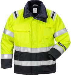 Flamestat high vis winterjack dames klasse 3 4285 ATHS Fristads Medium