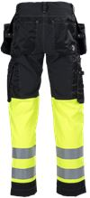 Ladies Tool Pocket Trousers HiVis 3.0 Stretch 2 Leijona Small