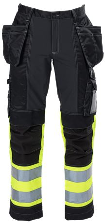 Ladies Tool Pocket Trousers HiVis 3.0 Stretch 1 Leijona