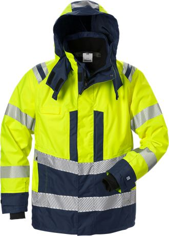 High vis Airtech® shell jacket class 3 4515 GTT 1 Fristads