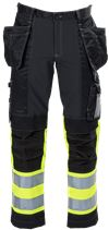 Tool Pocket Trousers Stretch HiVis 3.0 1 Leijona Small