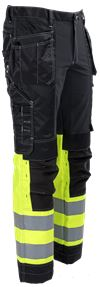 Tool Pocket Trousers Stretch HiVis 3.0 4 Leijona Small