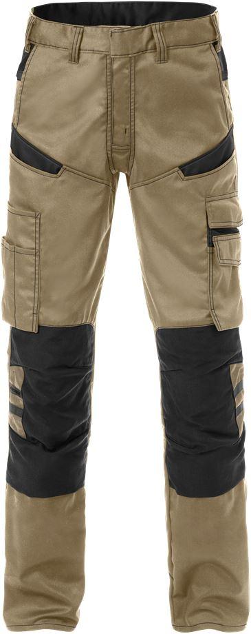 Fristads Men's Byxa 2555 STFP, Khaki/Svart
