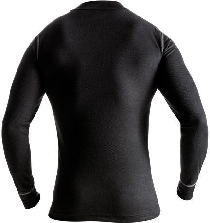Zipper-T-Shirt Langarm 789 OF 3 Kansas  Large