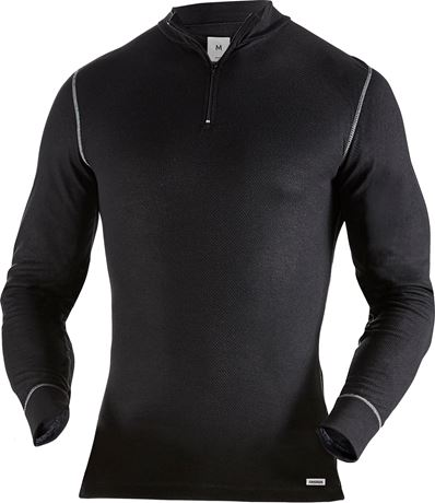 Half zip long sleeve t-shirt 789 OF 2 Fristads  Large