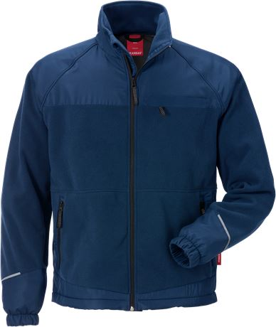 Windproof fleece jacket 4411 FLE 1 Kansas  Large