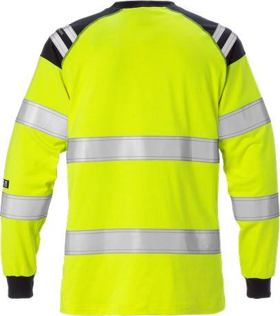 Flamestat långärmad T-shirt 7097 TFLH klass 3, dam 2 Fristads  Large