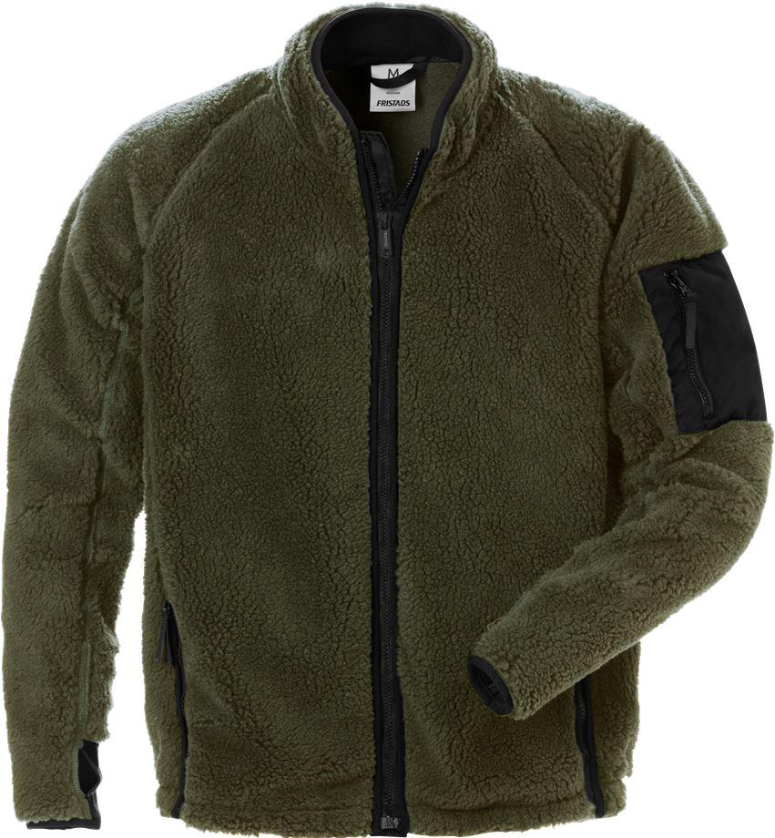 Fristads Men's Pälsfiberjacka 4064 P, Militärgrön