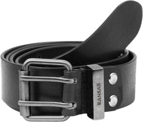 Leather belt 9126 LTHR Kansas Medium