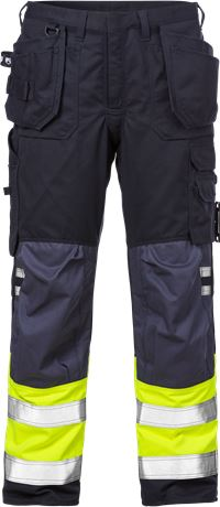 Flamestat high vis craftsman trousers cl 1 2074 ATHS 1 Kansas  Large
