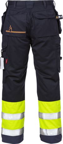 Flamestat high vis craftsman trousers cl 1 2074 ATHS 2 Kansas  Large