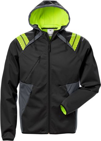 Hooded softshell jacket 7461 BON 1 Fristads  Large
