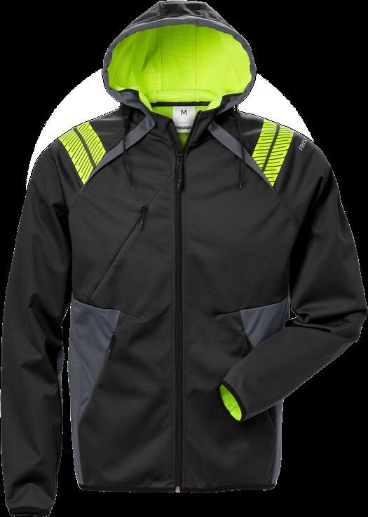 Hooded softshell jacket 7461 BON