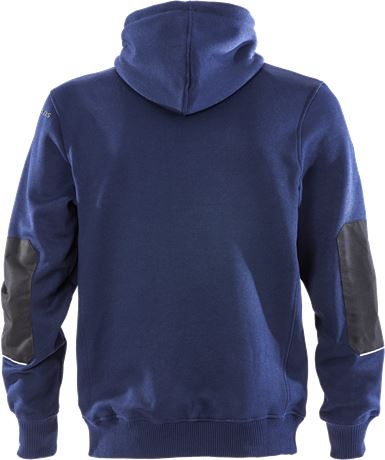 Hooded sweat jacket 7783 LYS 2 Fristads  Large