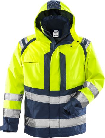 High vis Airtech® shell jacket class 3 4153 MPVX 1 Fristads  Large