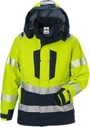Flamestat high vis GORE PYRAD® shell jacket woman class 3 4195 GXE Fristads Medium