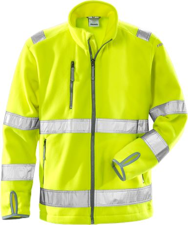 High vis fleece jacket cl 3 4400 FE 1 Fristads  Large