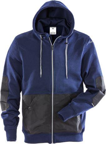 Hooded sweat jacket 7783 LYS 1 Fristads  Large