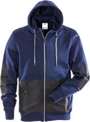 Hooded sweat jacket 7783 LYS Fristads Medium