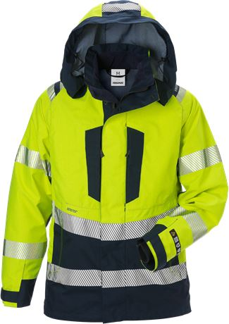 Flamestat high vis GORE-TEX PYRAD® shell jacket woman class 3 4195 GXE 1 Fristads