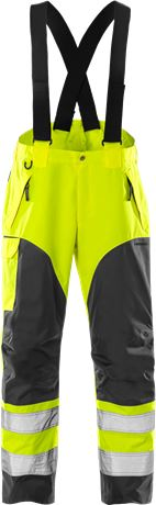 High vis Airtech® shell trousers class 2 2153 MPVX 3 Fristads  Large
